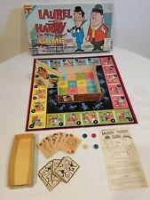 Vintage 1962 Transogram Laurel & Hardy Board Game - 100% Complete Cartoon TV Toy