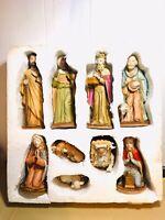 Vintage Rare 1986  Lefton Nativity Set 05421 - The Bethlehem Collection