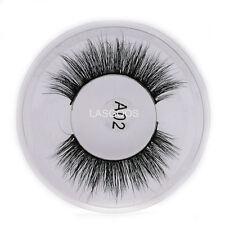 3D False Eyelashes Reusable Eye Lashes 100% Siberian Mink Fur Daily&Party Lashes