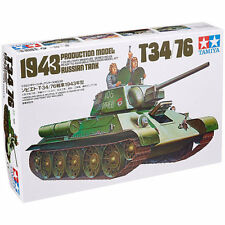 TAMIYA 35059 T34/76 1943 Russian Tank 1:35 Military Model Kit