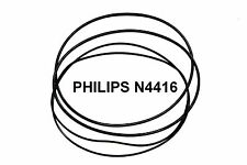 COURROIES SET PHILIPS N4416 MAGNETOPHONE A BANDE EXTRA FORT NEUF FABRIQUE N 4416