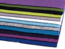 12 Platten Dekorativer Bastelfilz  20x30 cm Filzplatten 0,9mm Mix 2 Filz