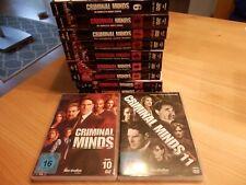 Criminal Minds Staffel Konvolut 1-11 - DVD sehr gut erhalten