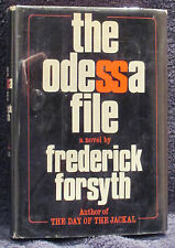 Forsyth, Frederick.  The Odessa File.  First Edition.