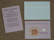 DAUGHTER 18th BIRTHDAY PRESENT/GIFT, LUCKY SIXPENCE & POEM IDEAL KEEPSAKE