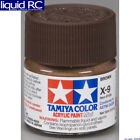 Tamiya USA TAM81509 Acrylic Mini X9 Brown