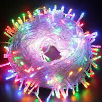 100LED Bulb Party Christmas Holiday Deco Fairy String Light EU Plug 220V Lot A+