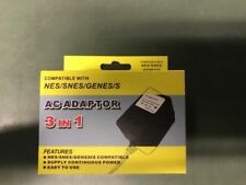 AC Adapter for Nes SNES & Genesis Systems - Super Nintendo Power Cable Cord