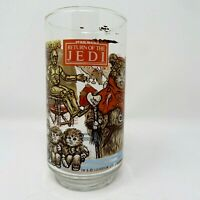 1983 Star Wars Return of the Jedi Burger King Glass - Ewok Village C3PO VTG