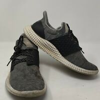 Adidas Gray/Black YYJ 606004 Men's Sneakers Shoes Size 8.5 US 8 UK Recovery Sole