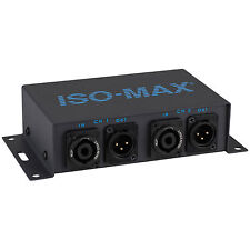 Jensen Iso-Max Sp-2Sx speakOn to Xlr Speaker Level to Line L