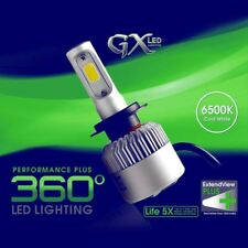 LED headlights Bulbs COB White Car Bulbs High/Low Beam Fit 2004-2012 Ford F-150