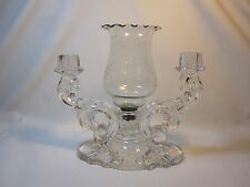 Heisey #1513 Baroque Candelabra Epergne with Replacement Center Vase