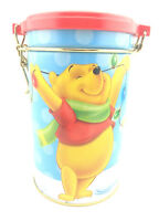 Christmas WINNIE THE POOH Disney Tin Collectable Tigger Jar