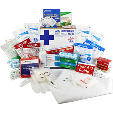 Bulk First Aid Kit Refill, 197 Pieces, 50 Person OSHA &ANSI B: Upgrade or Refill