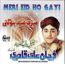 MUHAMMAD FARHAN ALI QADRI - MERI EID HOGI - VOL 10 - NEW NAAT CD - FREE UK POST