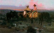 James Reynolds ARIZONA COWBOYS, Horses art print