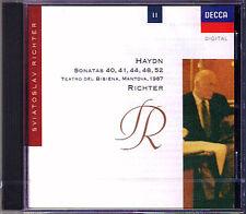 Sviatoslav RICHTER: HAYDN Piano Sonata 40 41 44 48 52 DECCA CD Klaviersonaten
