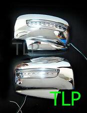 MITSUBISHI L200 TRITON ML MN PAJERO CHROME MIRROR COVER INDICATOR LED 06 - 12 09