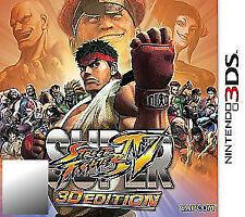 Super Street Fighter IV -- 3D Edition (Nintendo 3DS, 2011)