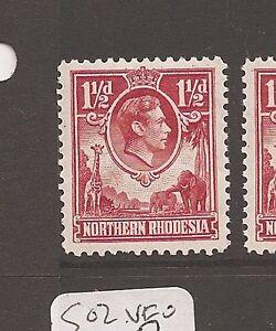 Northern Rhodesia KGVI 1 1/2d Animals SG 29 MNH (1azs)