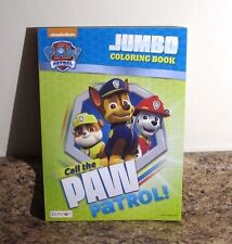 Paw Patrol Coloring and Activity Book Call The Paw Patrol NEW