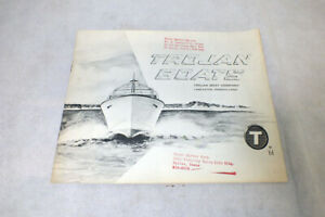 Original Vintage 1961 Trojan Boat Company Brochure Catalog Lancaster Pa