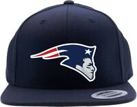 Navy Tom Brady New England Patriots Super Bowl Logo Snapback Hat
