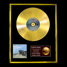 RUSH A FAREWELL TO KINGS CD GOLD DISC RECORD VINYL LP