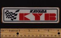 KYB KAYABA Forks Shock Vintage Motocross STICKER PATCH Suzuki Yamaha Kawasaki
