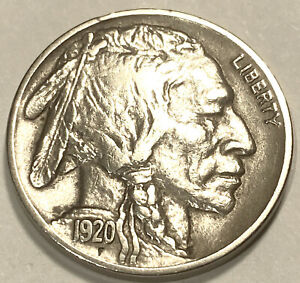 1920 D Buffalo Nickel  Choice BU
