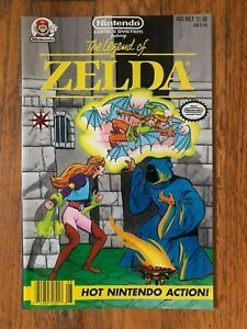 LEGEND of ZELDA #7, Nintendo Comics System, Valiant 1991, NES, NM, Rare