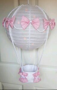 Hot Air Balloon Light Shade Looks Stunning In Nursery Baby. !