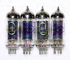 New black plate 4 x 6C4P-EV = 6Z4 ~ 6Z31 ~ 6X4  Rectifier Reflector tubes