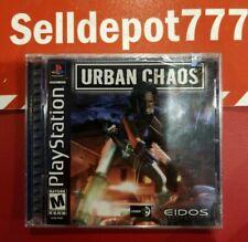Urban Chaos (Sony PlayStation 1, 2000) Brand New