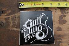 GULLWING Skateboard Trucks Vintage Skateboarding STICKER