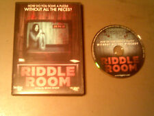 Riddle Room Used 2015 DVD / How Do You Solve A Puzzle Without All The Pieces ?