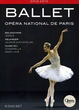 Opera National de Paris: Ballet [6 Discs] (2012, DVD NUEVO)6 DISC SET (REGION 1)
