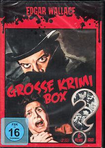 Edgar Wallace - Grosse Krimi Box / 6 Filme 2 DVD