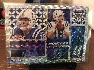 2020 Mosaic Peyton Manning Indianapolis Colts Prizm Montage m14