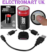 JUICECELL EMERGENCY USB MOBILE SMART PHONE BATTERY CHARGER CAPACITY 2000MAH