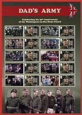 2018 LS111 Dads Army 50th Anniversary Smiler Sheet.