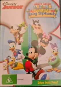 Disney Junior Mickey Mouse Clubhouse - Mickey's Big Splash DVD