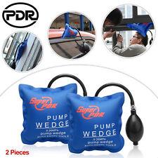2 Air Bag Pump Wedge Inflatable Automotiv Car Shim Windows Home Door Tool
