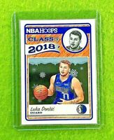LUKA DONCIC ROOKIE CARD JERSEY #77 DALLAS RC 2018-19 Panini HOOPS SP WINTER GOLD