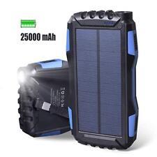 Elzle Solar Charger 25000mAh Portable Solar Phone Charger Large Capacity Solar