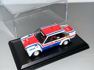 RALLY 1/43 TROFEU LABO FIAT FRANCE 131 ABARTH SAN REMO 1977 MICHELE MOUTON