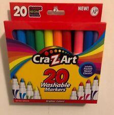Cra-z-art 20 washable markers. Broadline. Nontoxic Magic Markers. New Hf 50