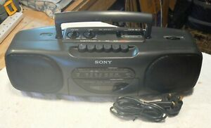 Sony CFS-B11  Cassette Radio, Used ,Faulty, Tidy Cond For Age, Spare Or Repair.