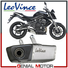 Leovince Terminale Scarico Underbody Acciaio Kawasaki Er 6N/F/Ninja 650R 2008 08